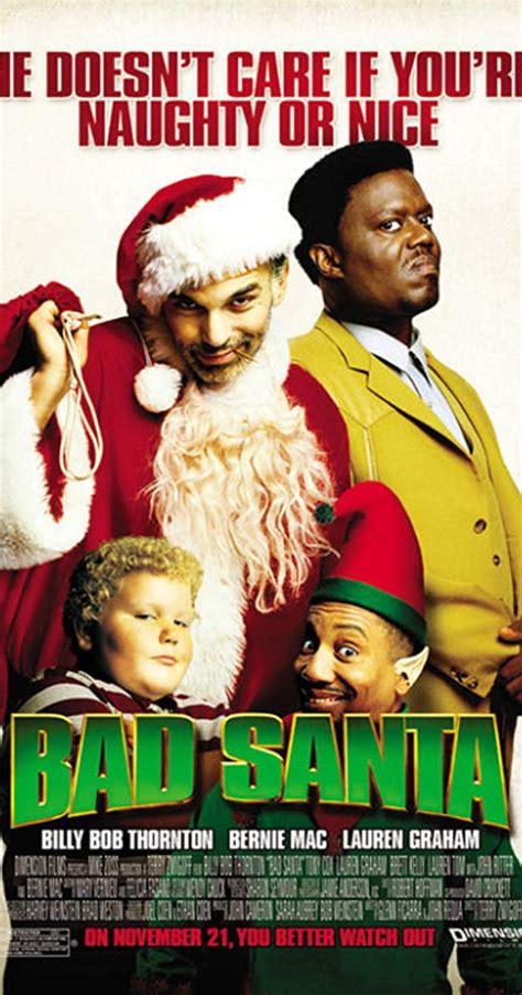 bad santa 2003 bad santa 2003 imdb