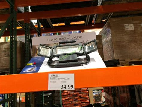 cat led work light costco winplus led folding worklight costcochaser