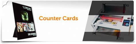 The Counter Gift Card - counter cards in cleveland oh point of purchase pop displays