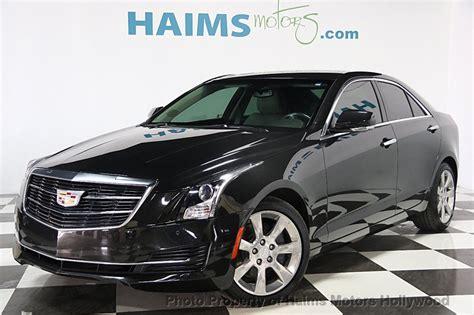 cadillac ats sedan 2015 2015 used cadillac ats sedan 4dr sedan 2 0l luxury rwd at