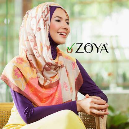 tutorial cara berhijab zoya tutorial hijab modern by zoya