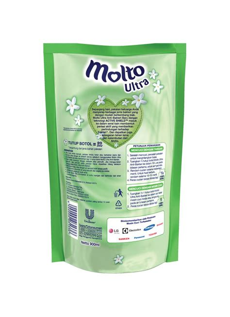Molto Ultra Black molto ultra sekali bilas ref anti bacteria pch 900ml