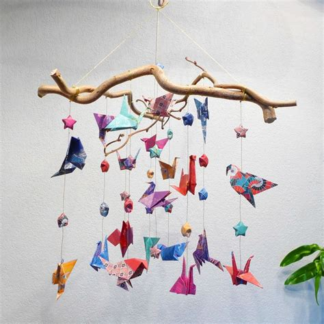 Mobile Origami - best 25 origami mobile ideas on diy butterfly