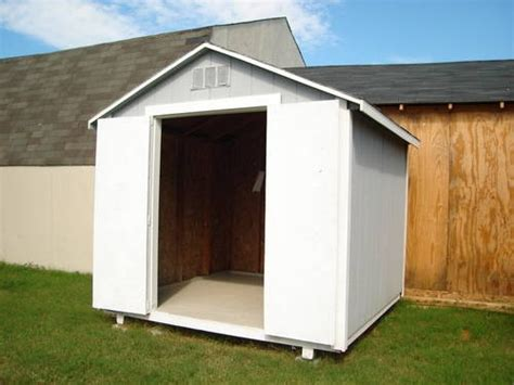storage sheds built  site