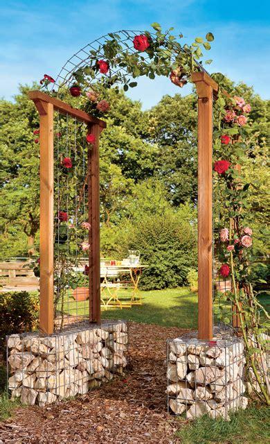 rosenbogen aus holz selber bauen 1253 rosenbogen selbst de
