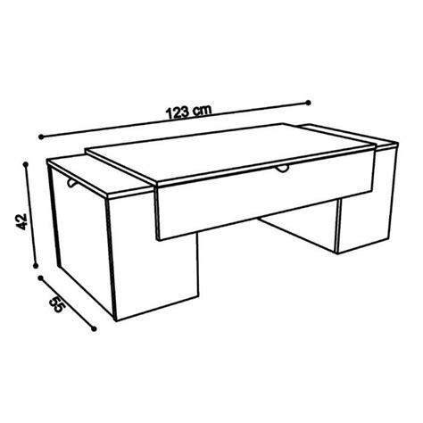 Lit Modulable Bébé by Meuble Tv Hifi Table Basse Luck Ultra Design Et Modulable