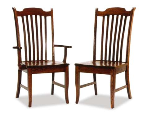 amish new englander dining room chairs amish dining room