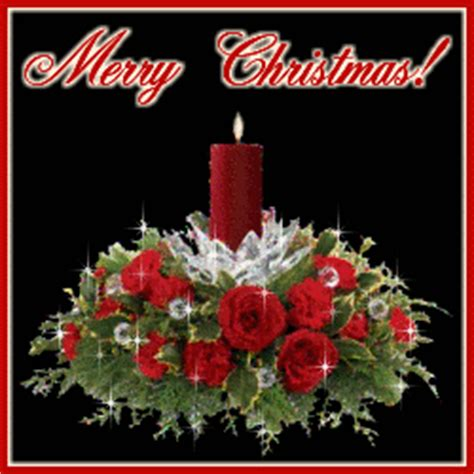 christmas wreath  candle glitter graphic greeting comment meme  gif