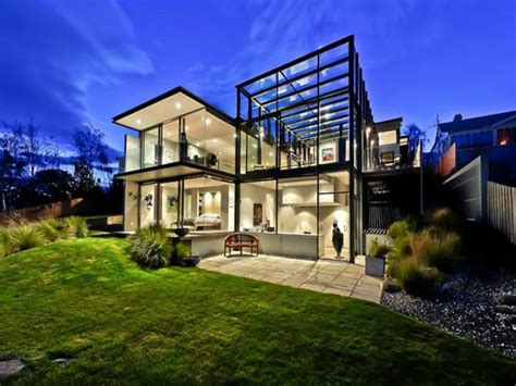 cool homes really cool glass houses alux com