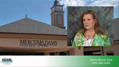 marla mercer cole with mercer funeral home
