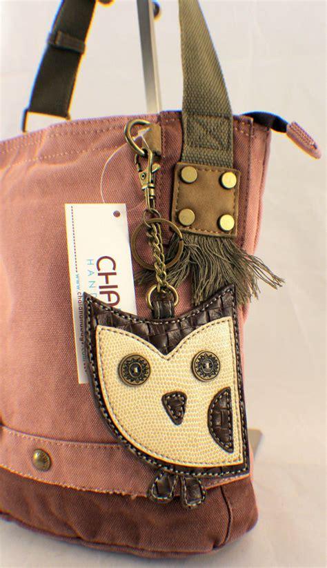 Totte Bag Kanvas Owl Tas Kanvas Totte Burung Hantu 1 1 chala purse handbag canvas crossbody with key chain tote bag hoot owl ebay