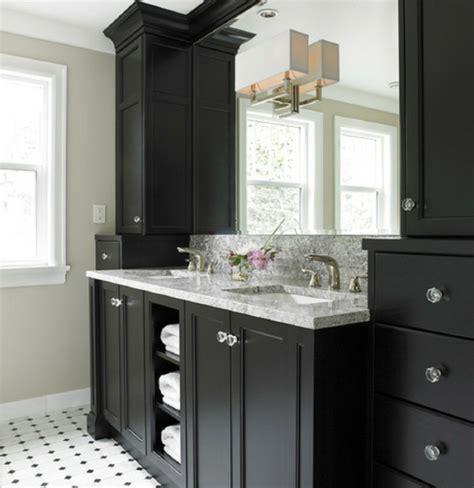 Alle Schwarzen Badezimmer by Badezimmer Unterschrank Schwarz Kreatif Zu Hause