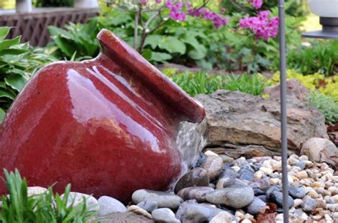 easy backyard water features easy diy water fountains outdoor sayleng sayleng