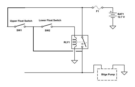 wire diagram for bilge float switch wire free