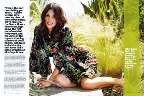 ashley greene magazine cover ashley greene covers health magazine cloutier remix