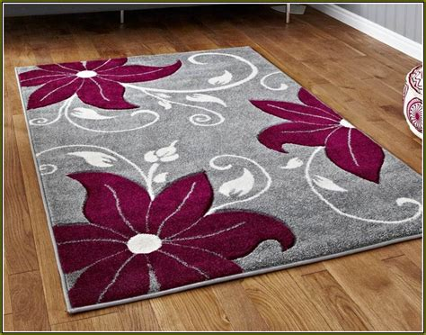 Plum And Gray Area Rugs Home Design Ideas