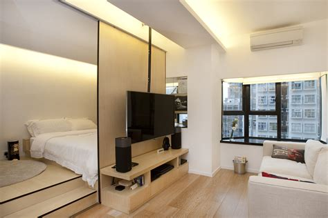 small luxury flat in hong inside the shape shifting 452 square foot hong kong flat