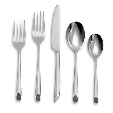 bed bath and beyond flatware towle wave 20 piece flatware set bed bath beyond