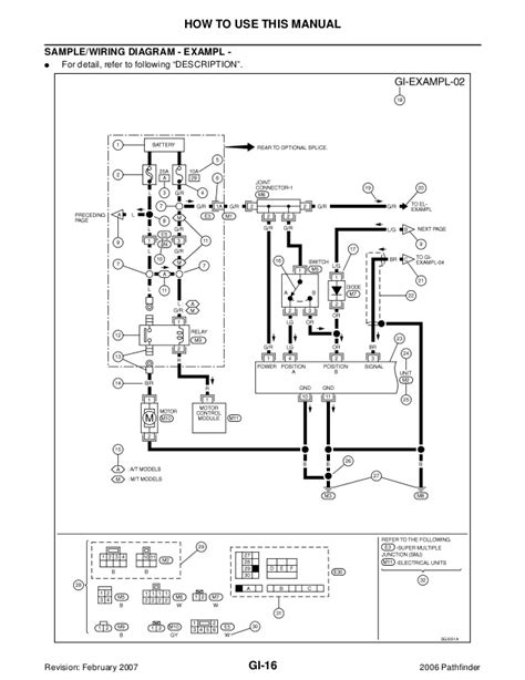 Nissan Pathfinder Electrical Diagram