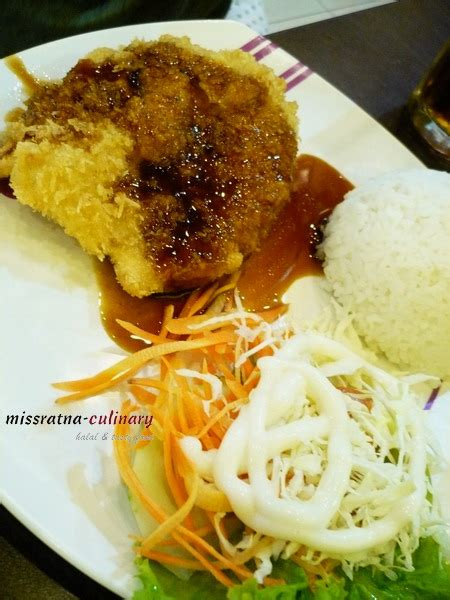 Chicken Katsu Teriyaki 2 makan bersama di solaria restaurant malang missratnaculinary