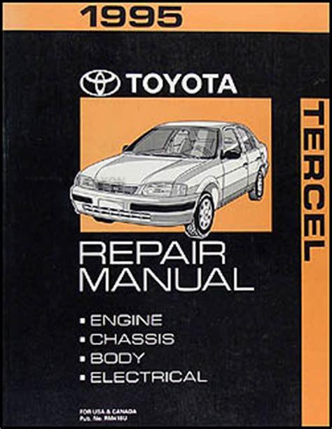 auto repair manual free download 1997 toyota tercel interior lighting 1995 toyota tercel repair shop manual original