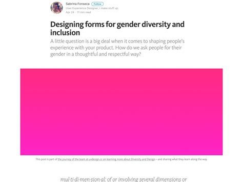 form design gender popular design news of the week may 8 2017 may 14