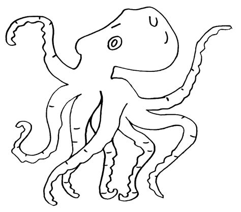 Galerry coloring pages of octopuses