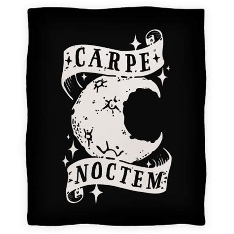 carpe noctem tattoo designs carpe noctem blanket lookhuman tatting and