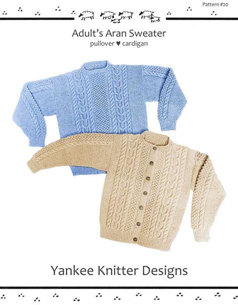 knitting pattern design software reviews adult aran sweater yankee knitter knitting pattern