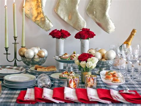 a casual and festive christmas open house hgtv
