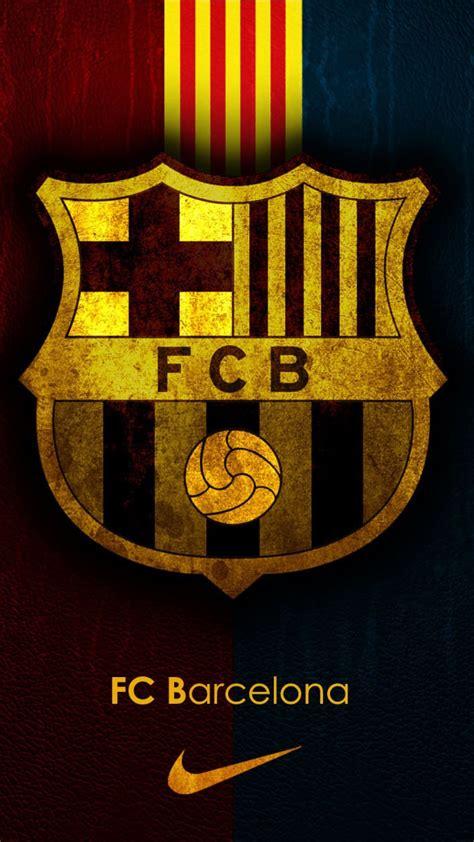 wallpaper barcelona iphone fc barcelona team logo background iphone 6 plus