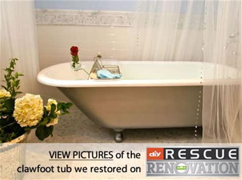 miracle method bathtub clawfoot bathtub refinishing cast iron tub refinishing