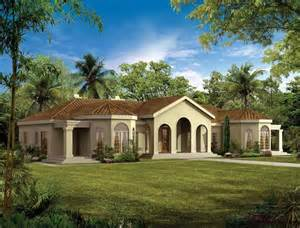 Mediterranean Style Floor Plans mediterranean modern house plans at eplans com mediterranean house