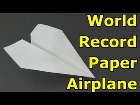 Make A Fast Paper Airplane - how to make a paper airplane fly far and fast www
