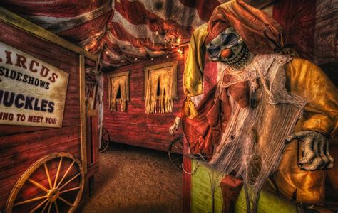 Room Decorating App haunted circus photograph by daniel george