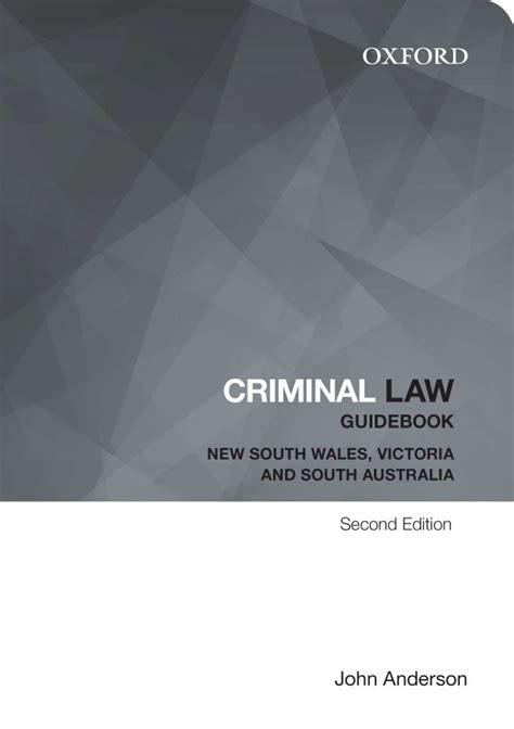 Guide Book Lawas criminal guidebook oxford press