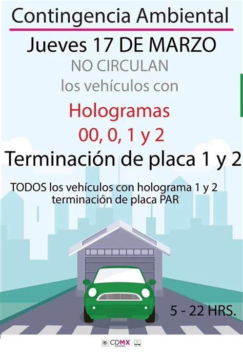 setravi hoy no circula taxis 16 de marzo 2016 quot continua la contingencia ambiental quot peri 211 dico online