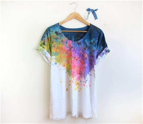 tie dye artwork graphic t shirts design ideas