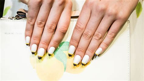 french trends nail trends for 2014 altered french and the half moon