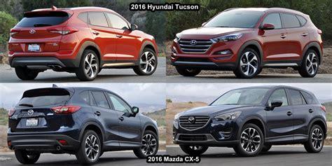 compare mazda cx 5 compare mazda cx 5 and hyundai tucson cars gallery