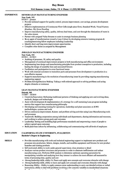 production manager resume resume for manufacturing jobs production