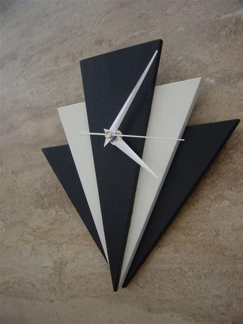 Art Wall Clock art deco style wall clocks woodman les