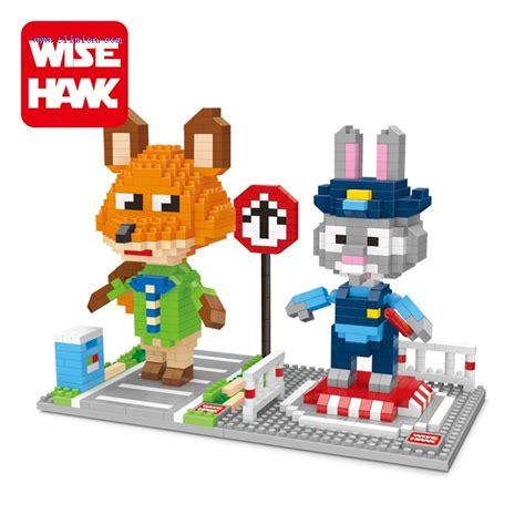 wise hawk micro blocks zootopia 2420 2421