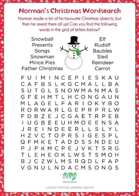 printable christmas word search for 2nd grade free christmas word search 2nd grade seasonal and