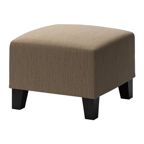 ikea ottomans eken 196 s ottoman hensta light brown ikea