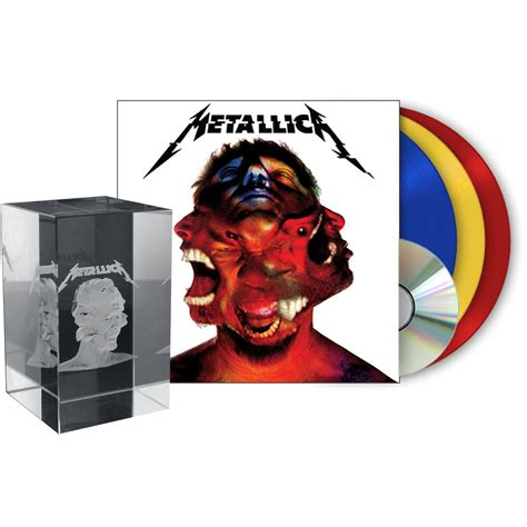 Cd Original Metallica Hardwired To Self Destruct Import metallica quot hardwired to self destruct quot 3 lp cd dice box set coloured limited edition buy