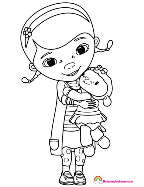 doc mcstuffin coloring pages doc mcstuffins printable activity coloring pages pet vet