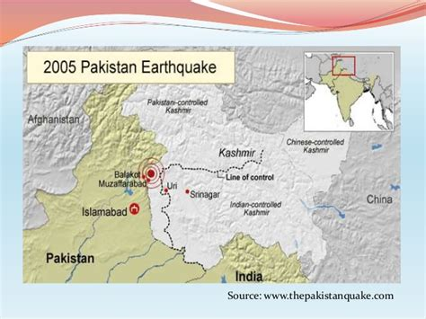 earthquake zones in pakistan 2005 earthquake in pakistan