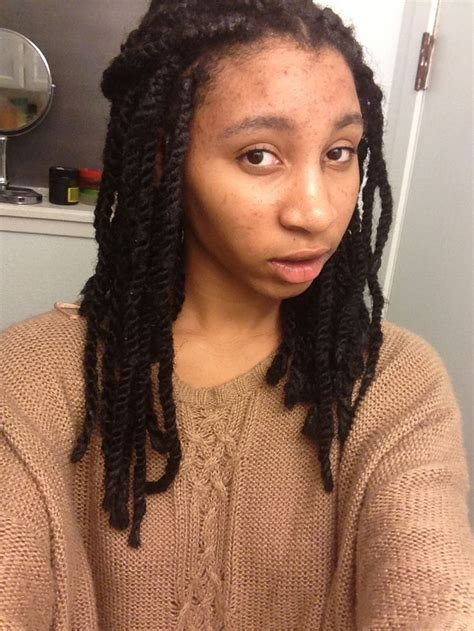 havana twists on very short hair short havana twist marley braids havanatwist