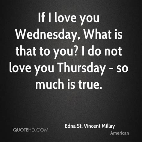 Edna St Vincent Millay Quotes